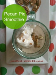 Whole Foods Pie Inspired Smoothies