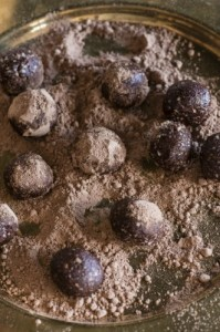 Vegan Truffle Balls w/ Paleo Option