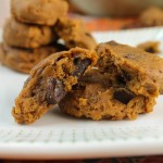 Soft Pumpkin Cookies – Gluten Free  & Vegan