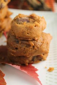 Soft Pumpkin Cookies - Gluten Free & Vegan-4234