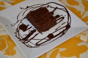 Paleo Chocolate Pumpkin Brownies