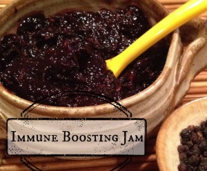 Immune Boosting Elderberry Jam