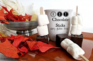 Dairy Free Hot Chocolate Sticks