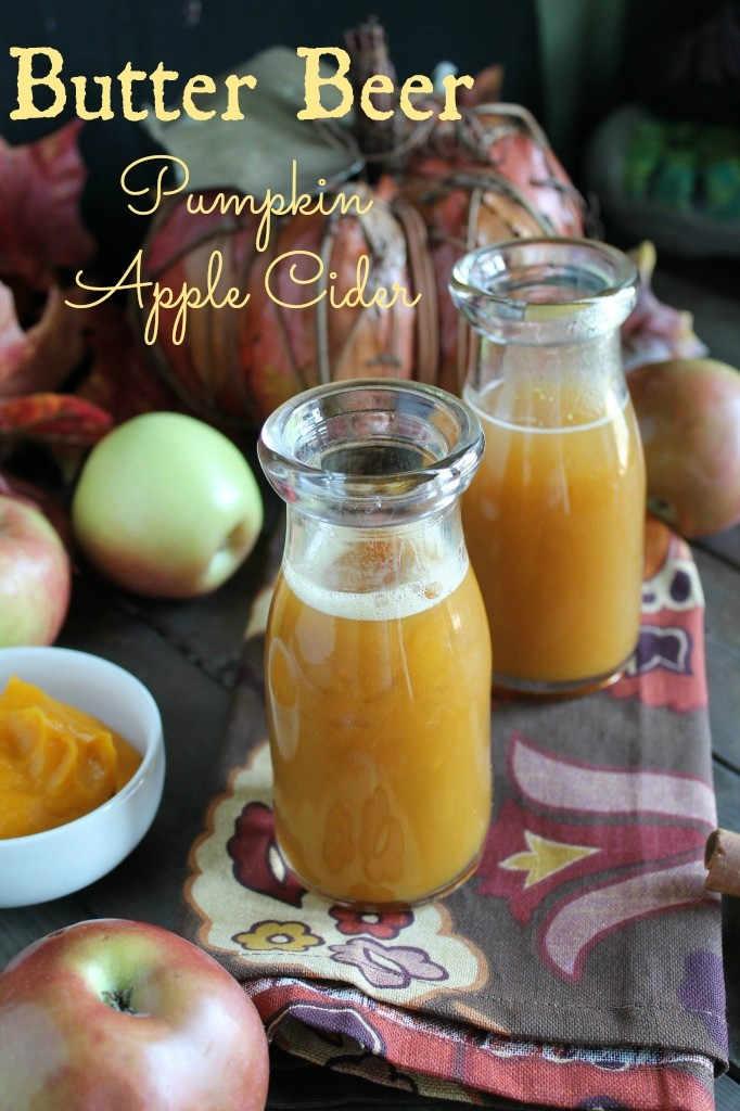 Butter Beer - aka Pumpkin Apple Cider #paleo #realfood #pumpkin #hotcider