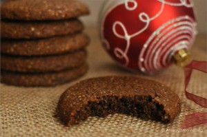 Paleo Soft Ginger Molasses Cookies