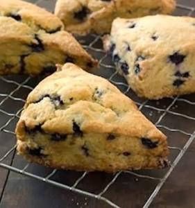 Blueberry Scones - Gluten & Dairy Free