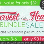 Harvest Your Health 90 Hours Only: Jumpstart Your Resolutions w/ Over 52 E-Books & More – $886.78 Value!