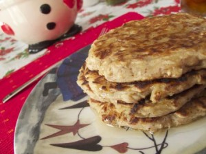 Wholegrain Apple Pancakes  - Glute Free & Vegan