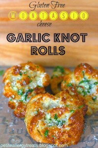 Garlic Cheese Knots - Gluten Free, Egg Free