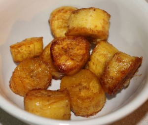 Paleo Sweet Caramelized Plantains