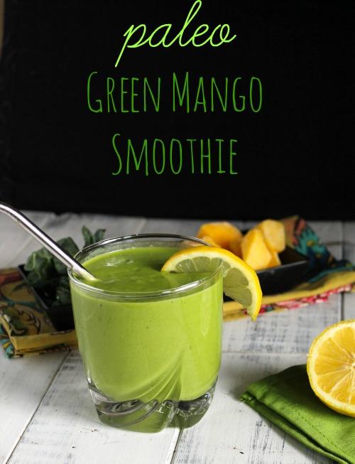Green Mango Smoothie - Pale, Nut Free, Whole 30-5248