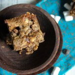 Gooey S'mores Blondies - Gluten Free & Vega