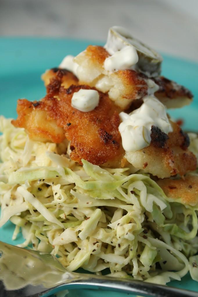 Paleo Fish Tacos w/ a Spicy Slaw - Tessa the Domestic Diva
