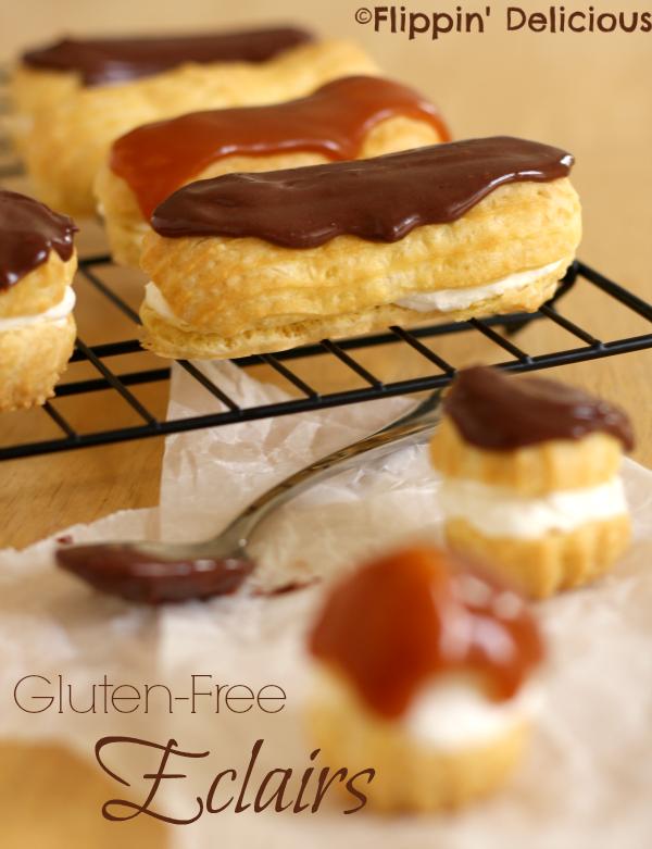 Gluten Free Eclairs - Cream Puffs