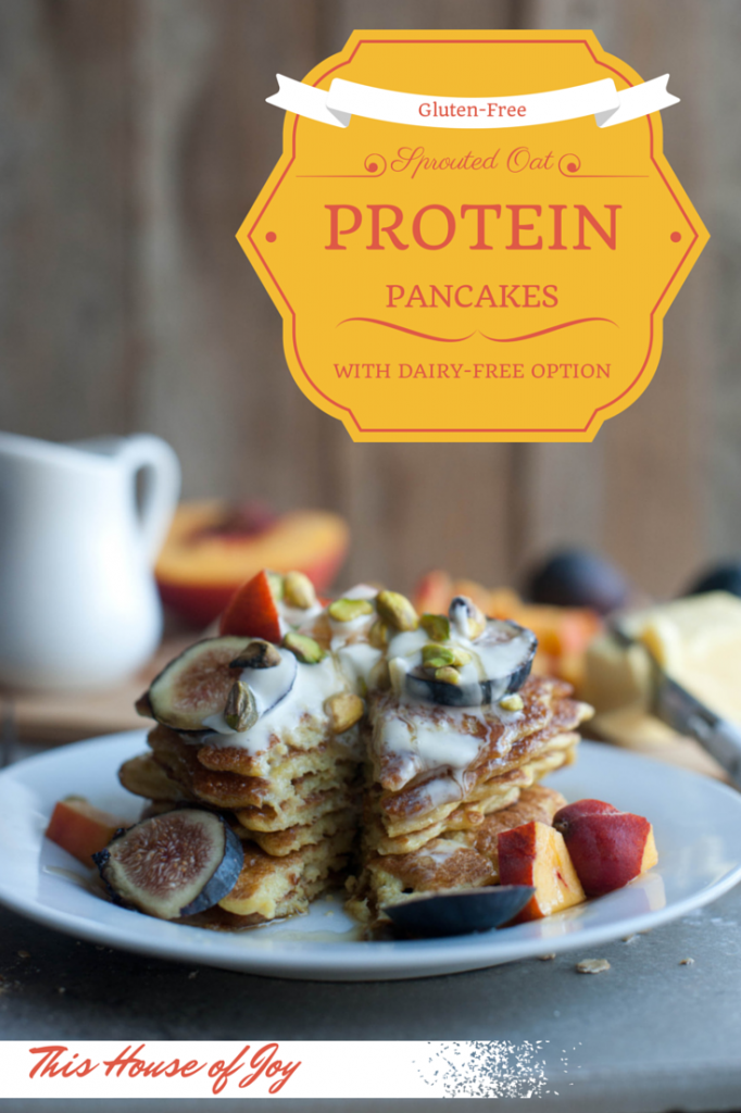 Sprouted Oat Protien Pancakes - Gluten Free