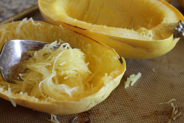 How to Roast a Spaghetti Squash - Perfectly-6856