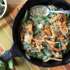Homemade from Scratch Green Bean Casserole – NO CANS! Paleo & Gluten Free