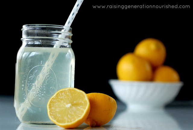 Homemade Natural Electrolyte Drink (Gatorade!)