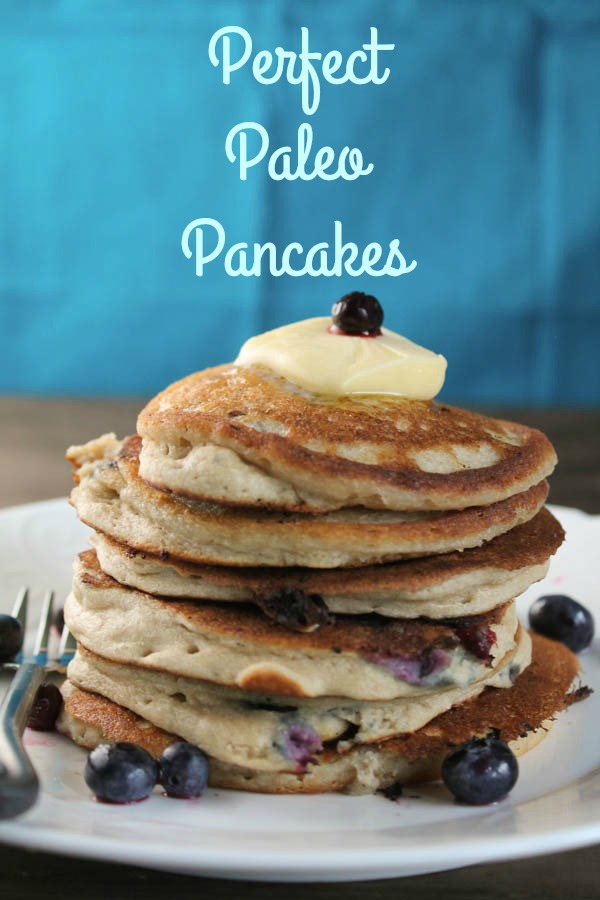 Perefect Paleo Pancakes-Pinterest