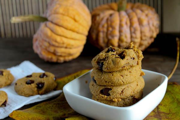 Paleo Pumpkin Cookies - Egg Free-8330