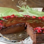 Paleo Chocolate Chestnut Torte