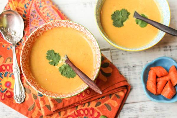 Instant Pot Paleo Thai Carrot Soup