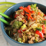 Quick Asian Stir Fry w/ Hamburger – Gluten Free & Paleo