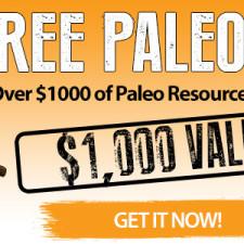 Get Your FREE Paleo Bundle NOW!!  Plus Paleo Daily Deals!