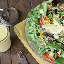 Paleo Honey Mustard Dressing & A Favorite Salad