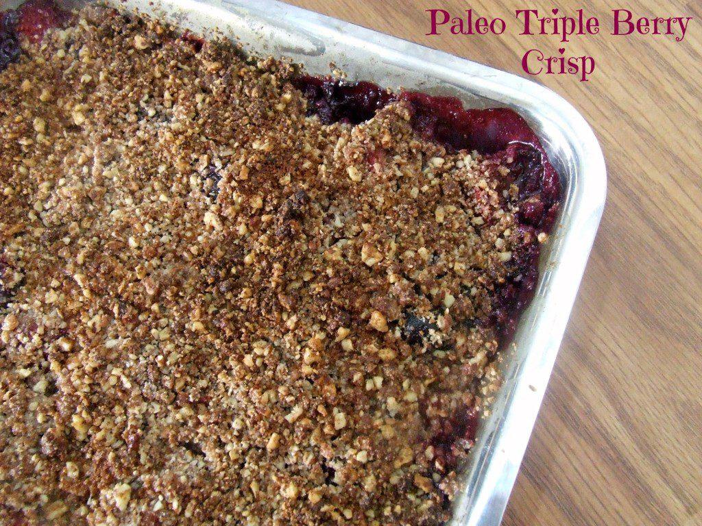 Paleo Berry Crisp