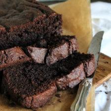 Paleo Chocolate Hemp Zucchini Bread