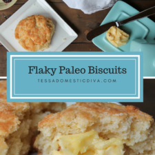 Flaky Paleo Biscuits