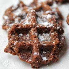 "Chocolate Waffle 'Boot Track"" Cookies – Paleo |  Vegan"