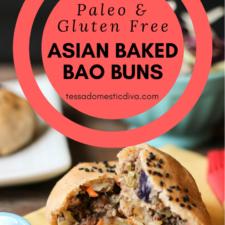 Gluten Free | Paleo Baked Chinese Bao Buns