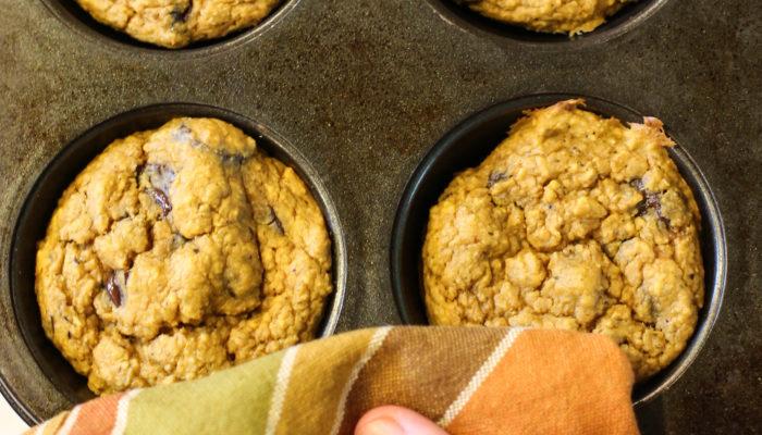 Pumpkin Oat Hemp Muffins – Gluten Free | Vegan