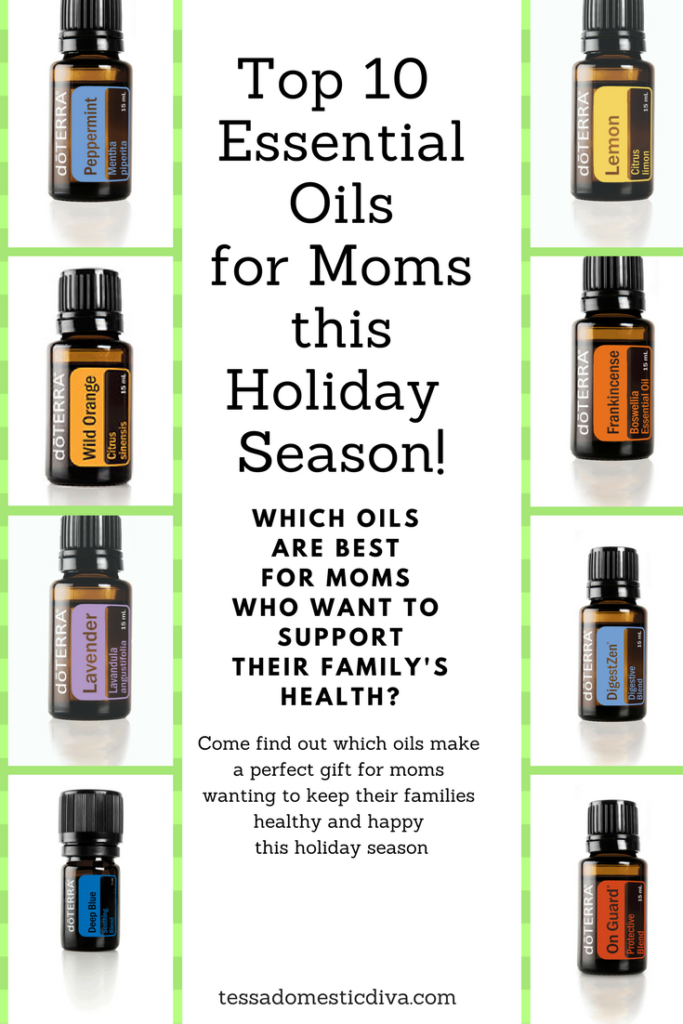Top 10 Essential Oils for Moms this Christmas! #gifts #moms #kids #health #wellness #essentialoils #stress