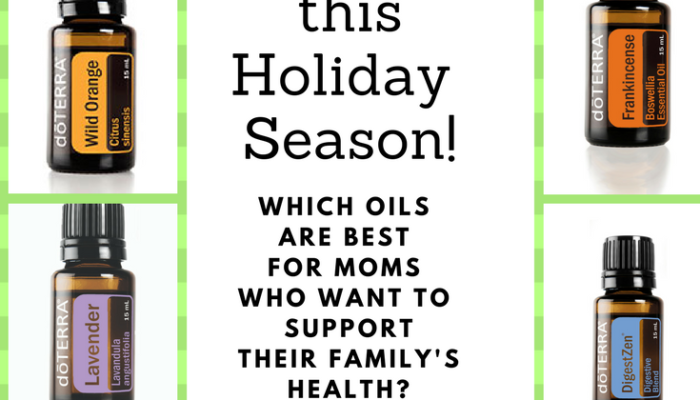Top Ten Essential Oils for Moms