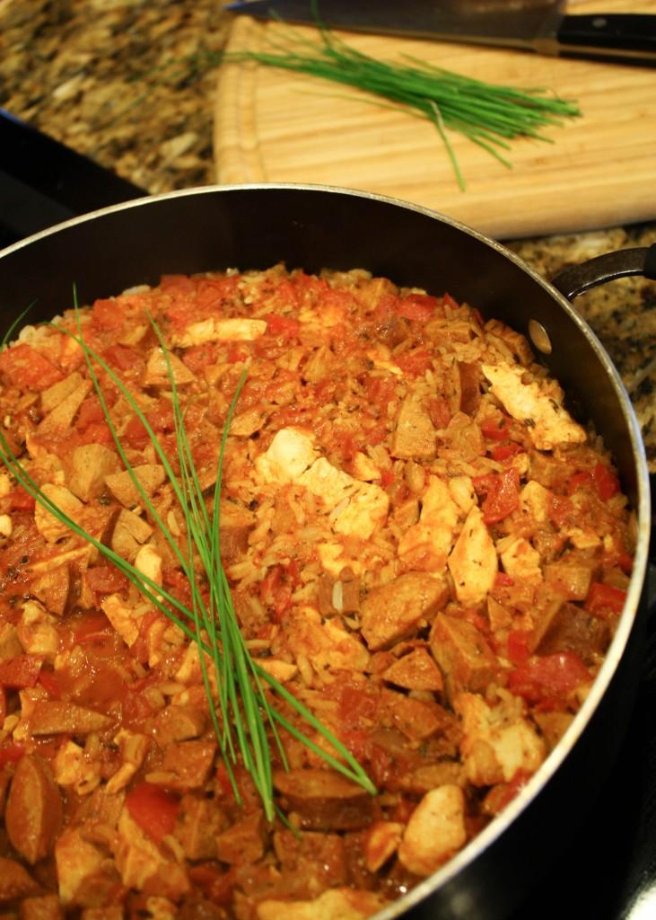 Jambalaya - Cajun Chciken, Rice & Sausage - Gluten Free!-8029