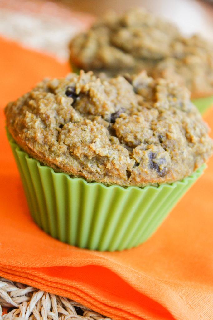 Gluten Free Vegan Pumpkin Muffins
