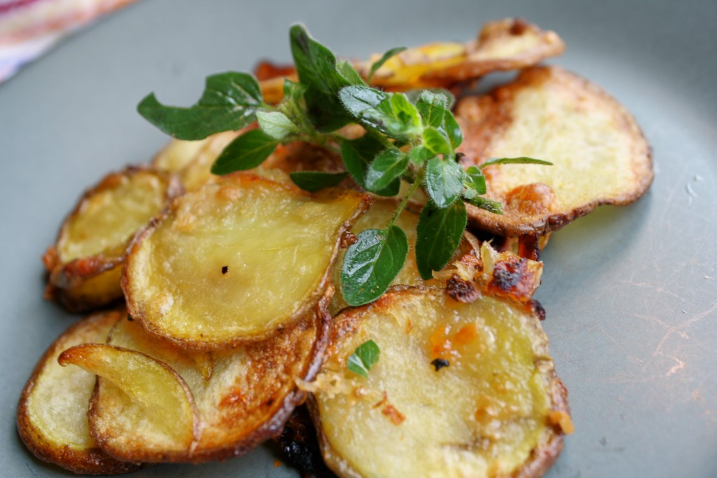 Oven Roasted Potato Chips