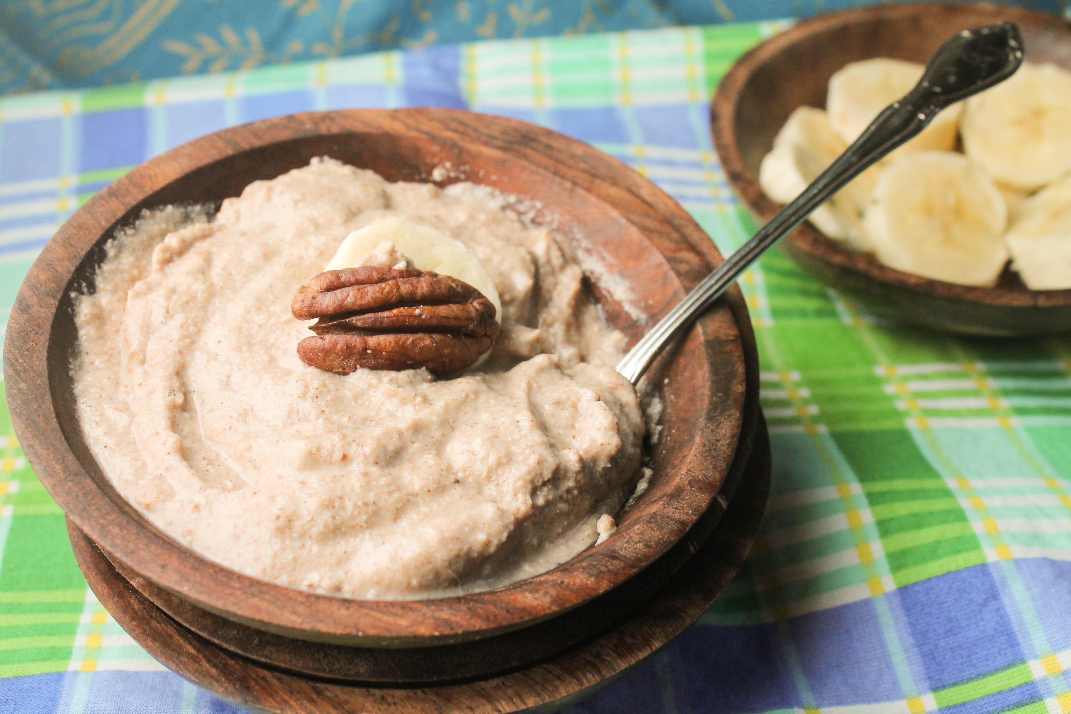 Keto Paleo Vegan Whole 30 Creamy Maple Nut Porridge