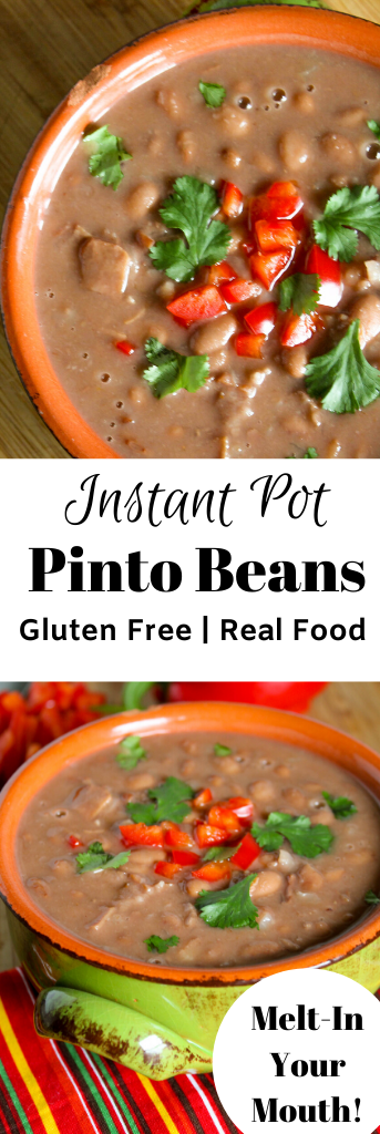 pinterest ready pinto beans in a savory brothin a earthen pottery bowl