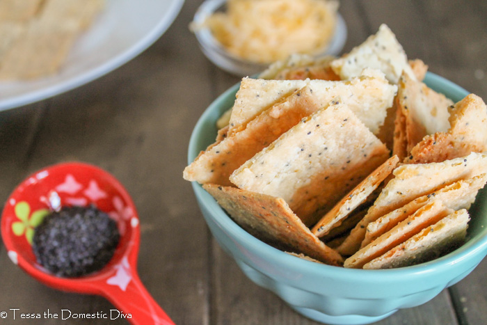 Paleo Cheese Crackers