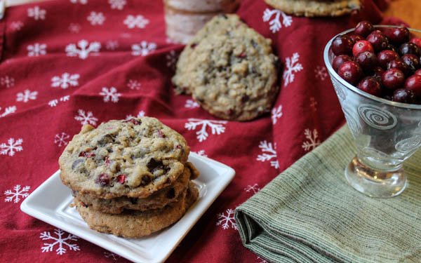 Gluten Free Oatmeal Chocolate Chip Cookies