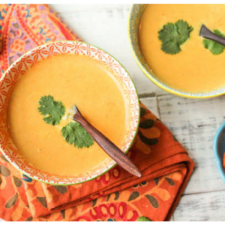 Instant Pot Paleo Thai Carrot Soup