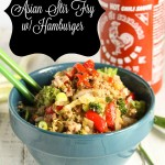 Quick Asian Stir Fry w- Hamburger Paleo | Gluten Free