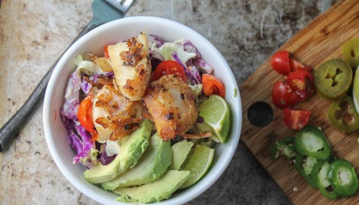 Paleo Fish Tacos – Whole30 | Gluten Free