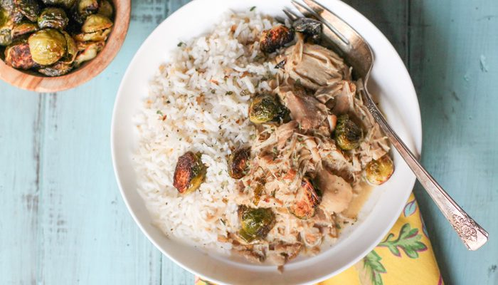 Creamy Instant Pot Chicken Thighs – Whole30