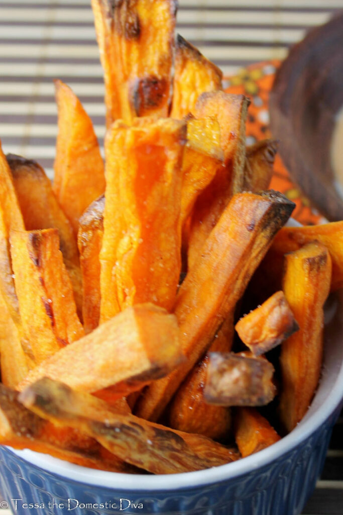 Crispy Oven Baked Sweet Potato Fries Whole 30 Paleo Gluten Free